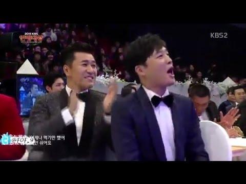 차태현- Cha Tae Hyun  Moments 1 in the kbs entertainment awards 2015