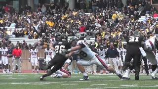 Mountaineer Football Highlights 2013 - Samford University versus Appalachian State