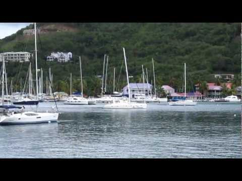 Tortola, West End Harbor View