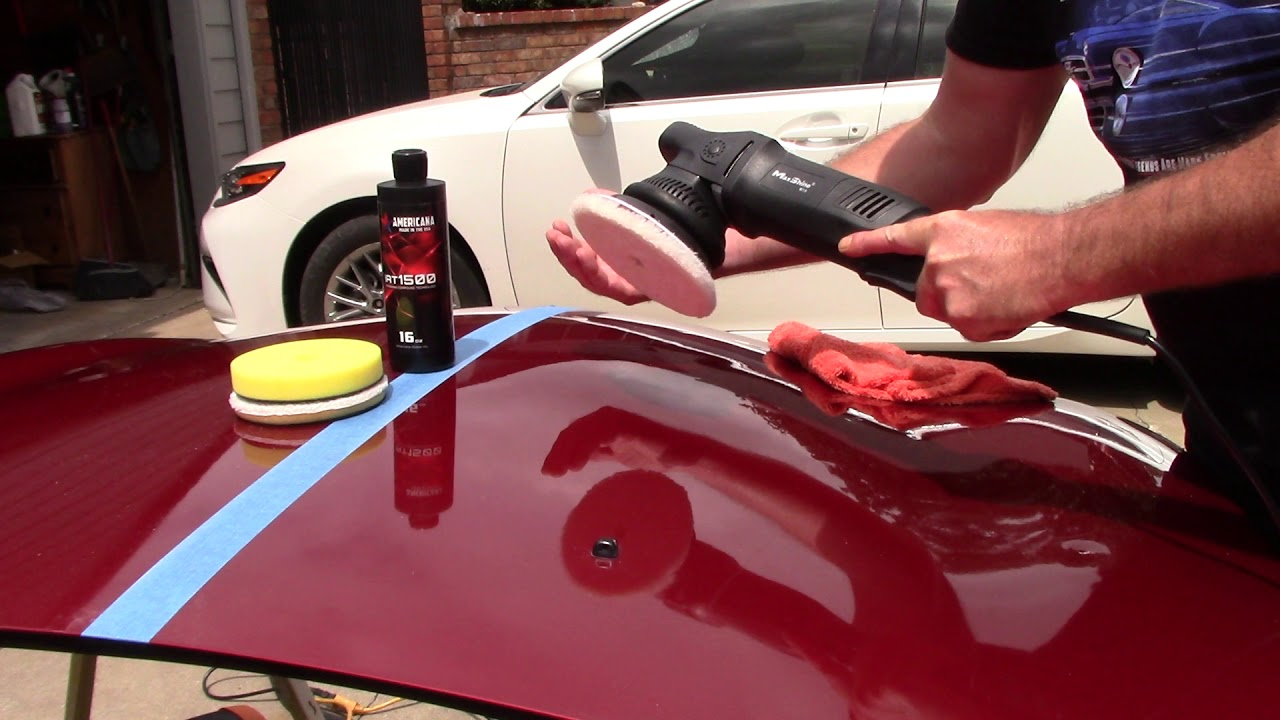 Caring for Clear Coat Paint