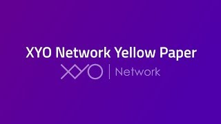 XYO Network Yellow Paper