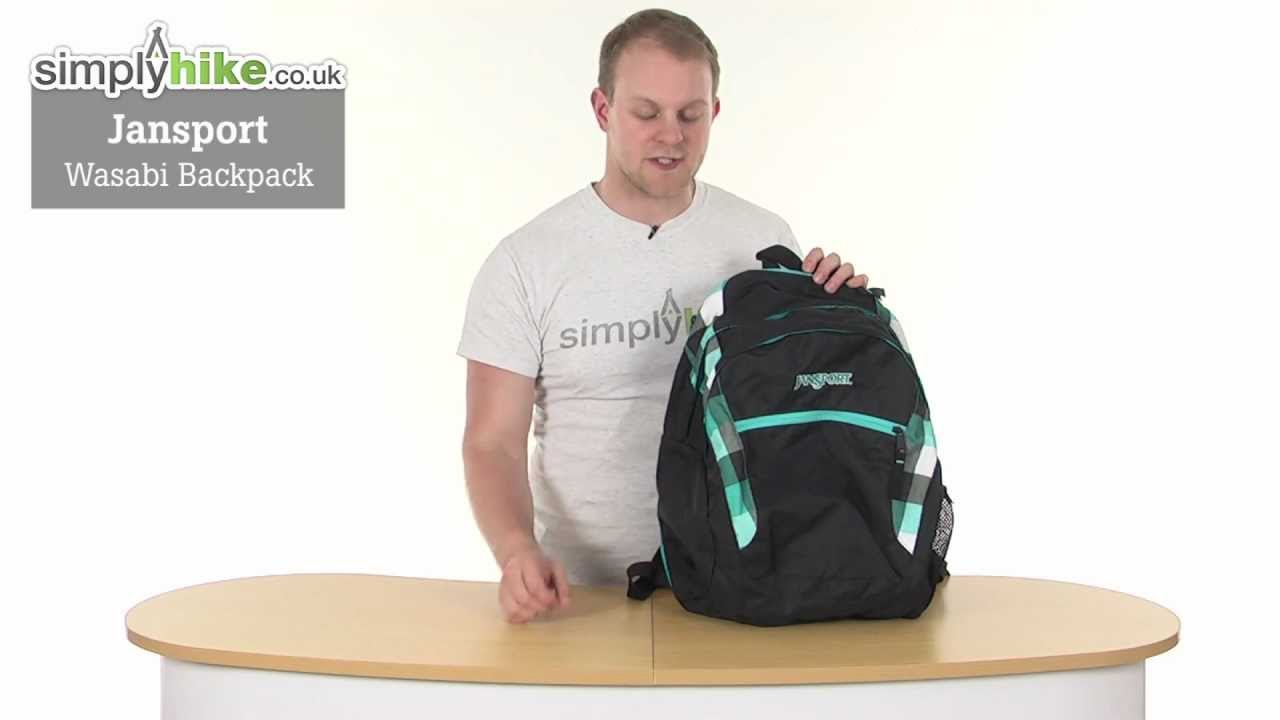 Jansport Wasabi Backpack - www.simplyhike.co.uk - YouTube