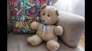 Peluş Ayıcık Yapımı - DIY - How to Make Teddy Bear- Ucuz ve Kolay Oyuncak Kendin Yap