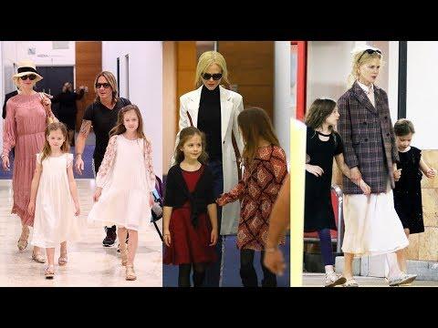 Nicole Kidman's Daughters - 2018 {Sunday Rose   Faith Margaret}