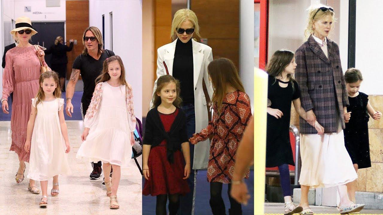 nicole kidman s daughters 2018 sunday rose faith margaret