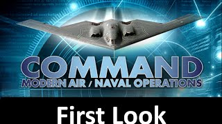 Command: Modern Air/Naval Operations (CMANO) First Look