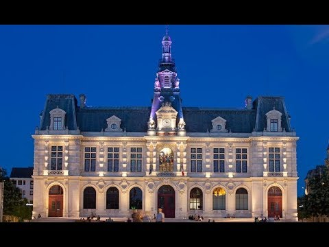 Poitiers, Nouvelle-Aquitaine, France TRAVEL VIDEO