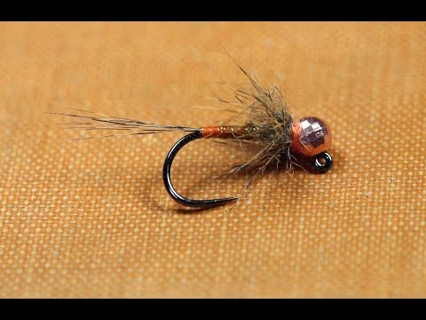 Olive jig nymph fly pattern - Steffan Jones