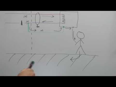 TN-C-S Danger - Broken PEN Conductor (Combined Earth & Neutral)