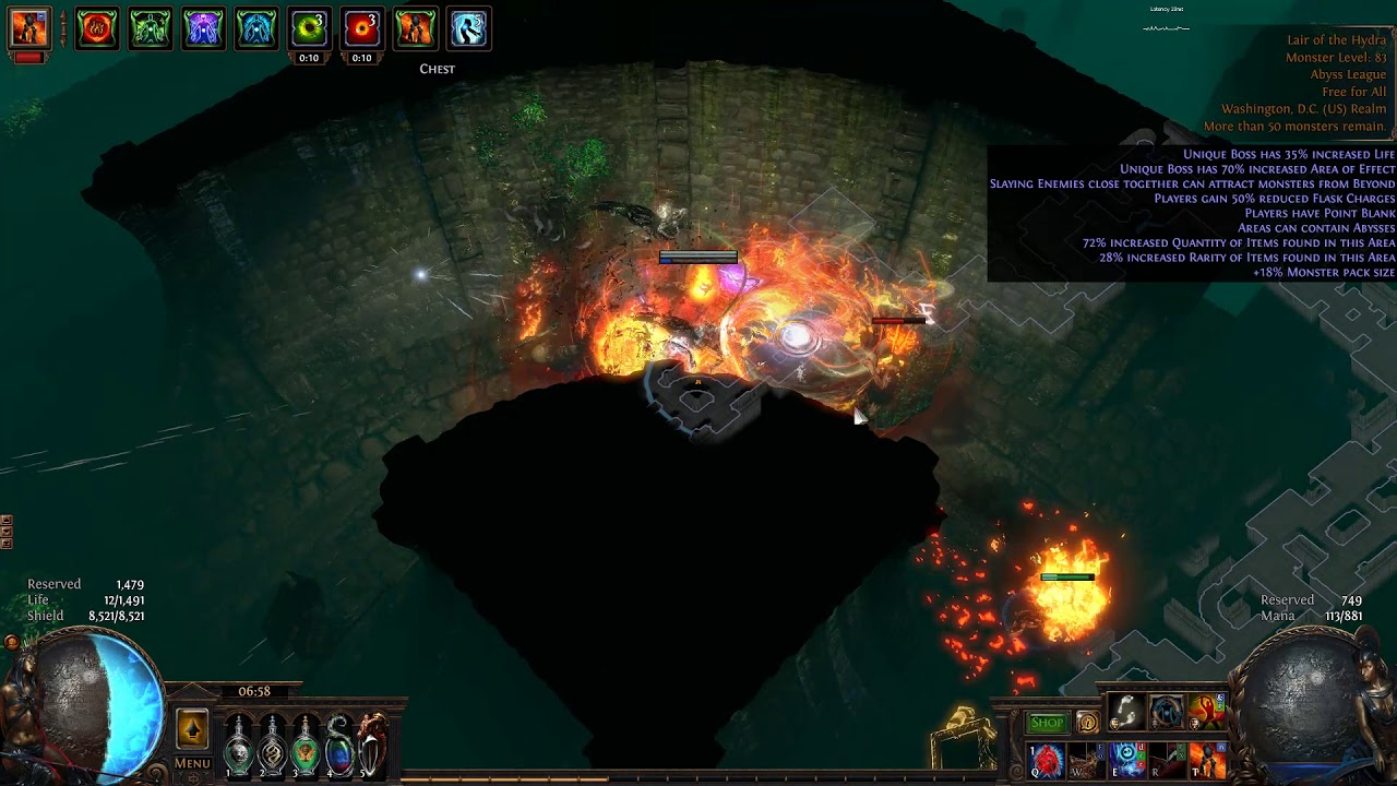 Path of Exile 3 3 Lastest and Detailed Builds For Scion Ascendant Spells