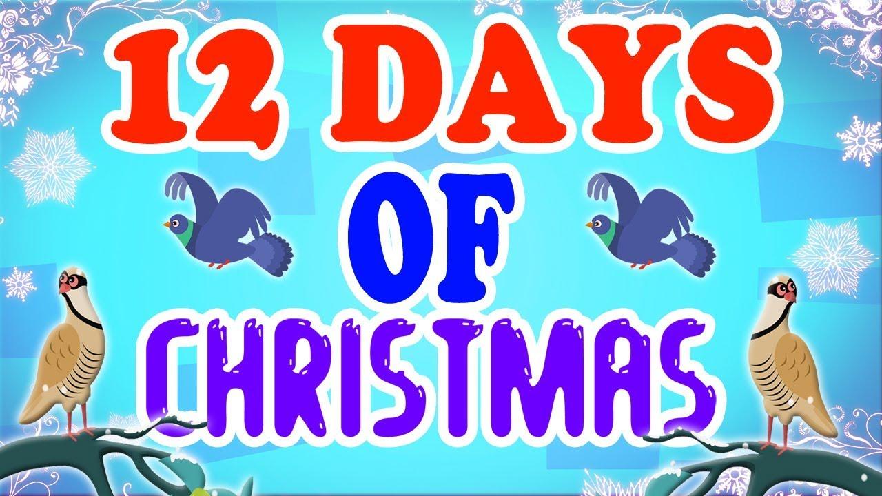Zwölf Tage von Weihnachten | Weihnachtslied | Urlaubslied | Merry ...