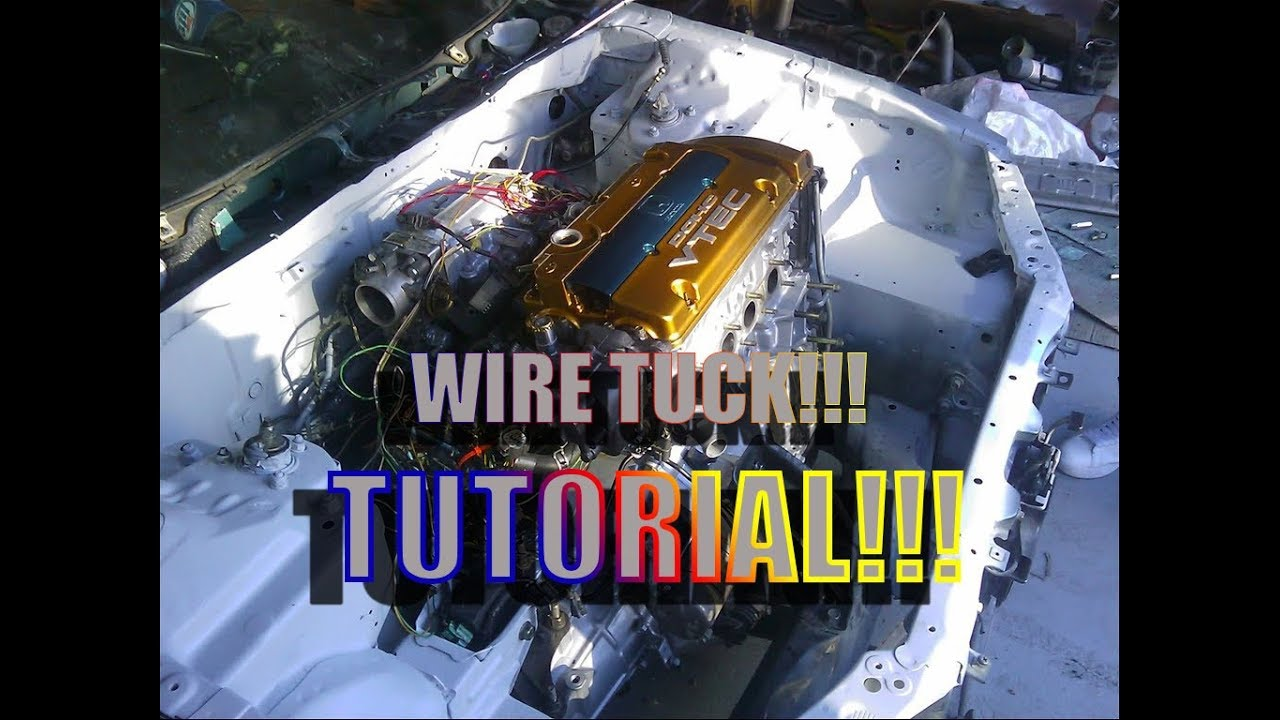 maxresdefault how to wire tuck accord with no cutting part 1 youtube h22 wire tuck harness at eliteediting.co