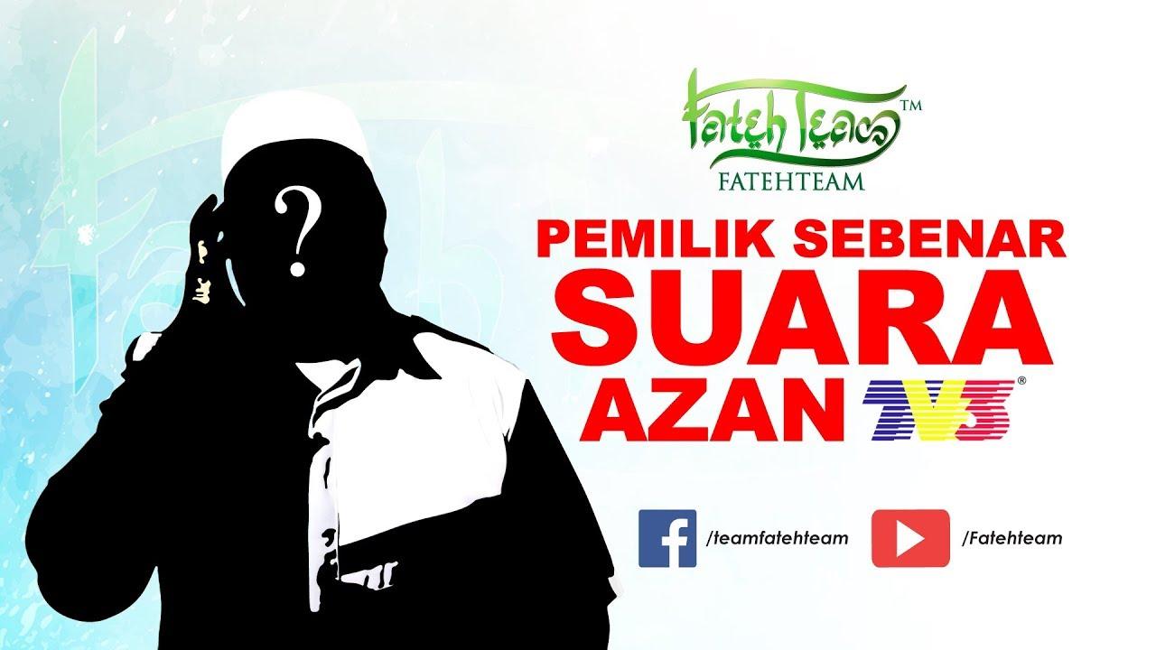 Download Da'i Shazwan - Pemilik Sebenar Suara Azan TV3