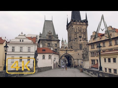 PRAGUE in 4K | CZECH REPUBLIC