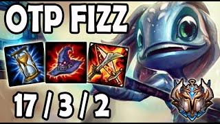 OTP Fizz vs Leblanc [ MID ] Lol Challenger Korea