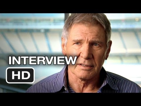42 Interview - Harrison Ford (2013) Jackie Robinson Movie HD