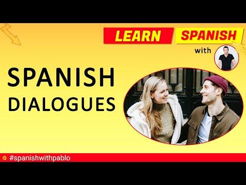 Spanish Situational Conversations / Dialogues Compilation Part 1