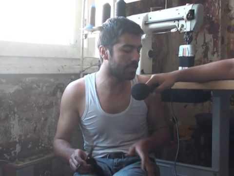 Adana Saya işçilerinden televizyonumuza destek