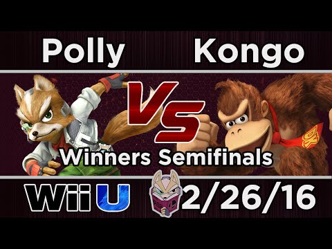 The Briggs House 3 - Polly (Fox) Vs. Kongo (DK) SSB4 Winners Semifinals - Smash 4