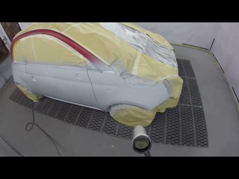 Fiat 500 Rosso Sfrontato Triple Coat Octoral EcoOctobase