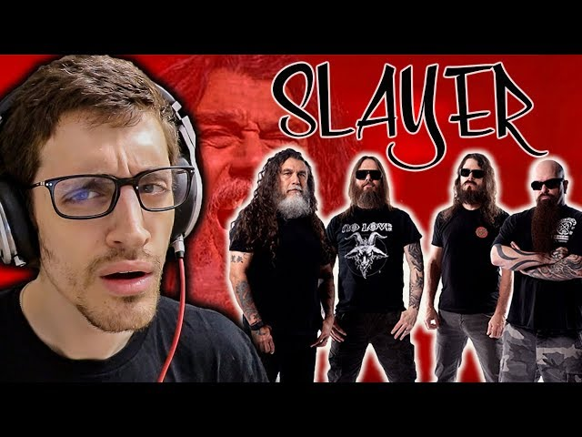 "Hip-Hop Head's FIRST TIME Hearing SLAYER: ""Raining Blood"" REACTION"