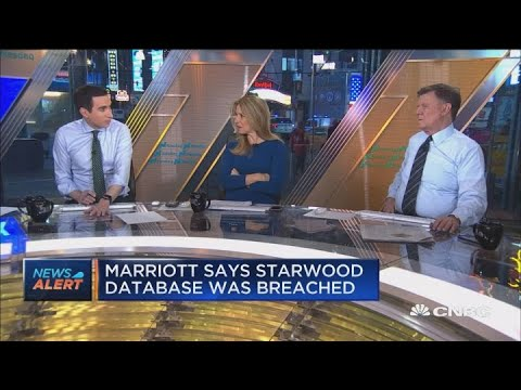Marriott's Starwood database was breached, potentially exposing 500 million guests