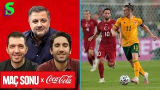 Türkiye-Galler Maç Sonu  Mehmet Demirkol, Emre Özcan, İnan Özdemir