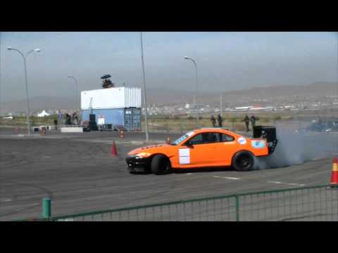 Drift show in Mongolia