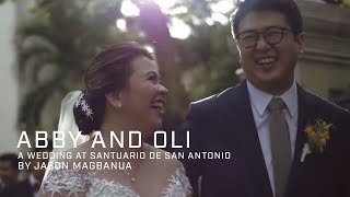 Abby and Oli: A Wedding at Santuario de San Antonio