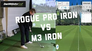 Callaway Rogue Pro Iron VS TaylorMade M3 Iron - WOW