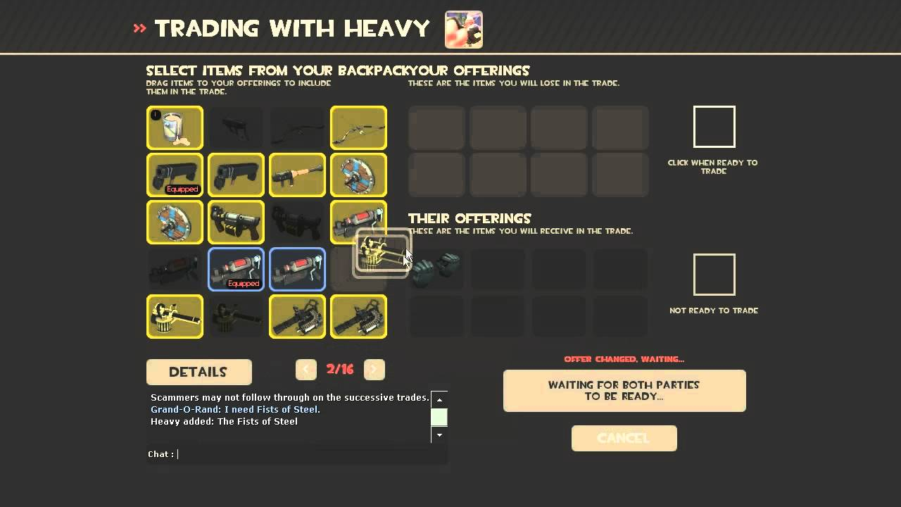 Trading - Official TF2 Wiki | Official Team Fortress Wiki