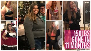 HOW I LOST 150LBS IN 11 MONTHS