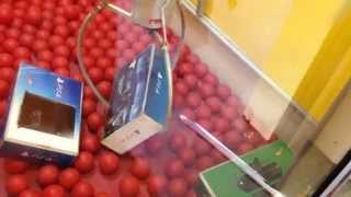 ultimate fail on giant claw machine win ps4 or xbox one video game system at busch gardens