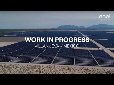 Solar energy: work in progress in Villanueva, Mexico