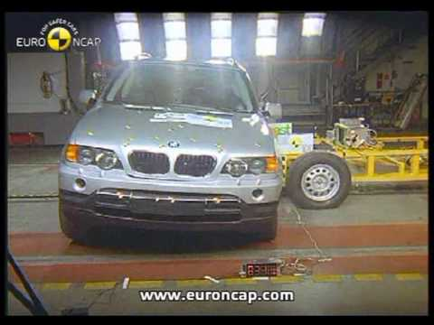 euro ncap bmw x5 2003 crash test youtube. Black Bedroom Furniture Sets. Home Design Ideas