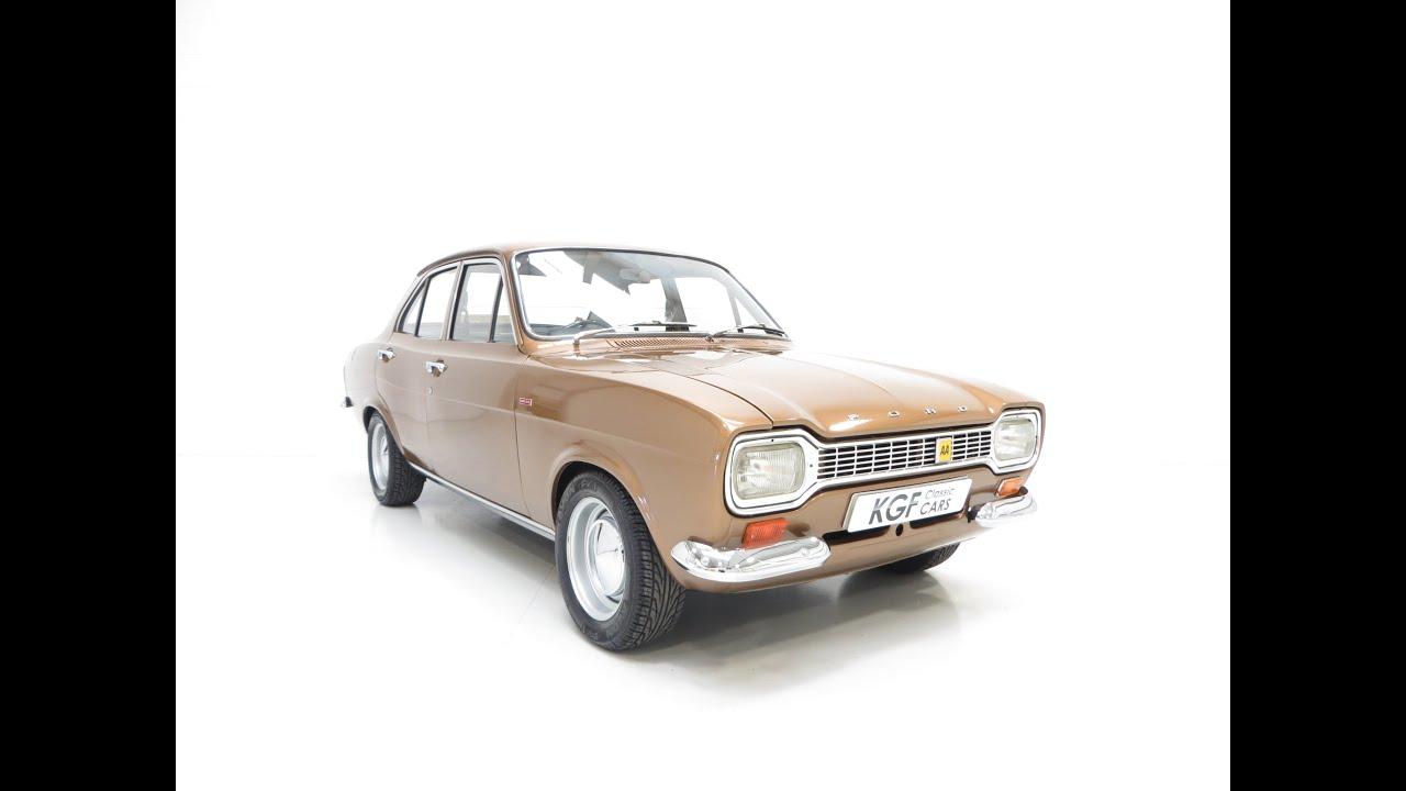 Ashley Milton Keynes Escort a fabulous ford escort mk1 1300xl with a subtle modified twist - sold!