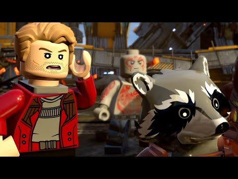 10 Minutes of LEGO Marvel Super Heroes 2 Gameplay - E3 2017