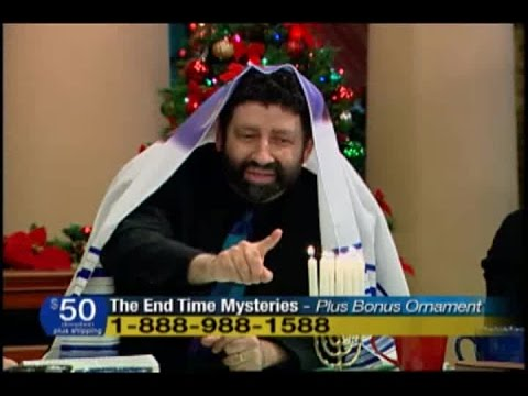 Jonathan Cahn: Hanukkah foreshadows the Antichrist  (part 2 of 2)