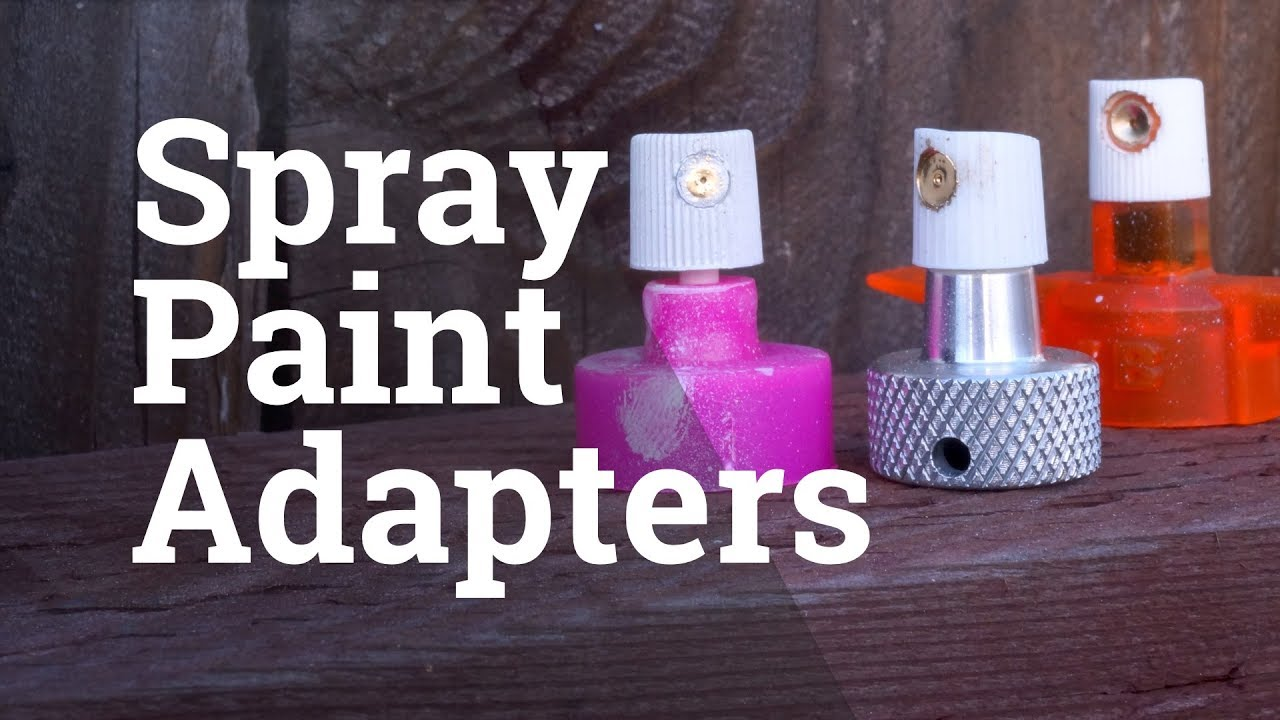 Replace Clogged Spray Paint Nozzles You