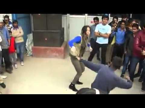 Girl Dancing Roadshow Dance Brazil Remix Song
