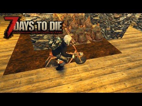 7 Days To Die Alpha15 #17 - КАК СОБРАТЬ МОПЕД?!