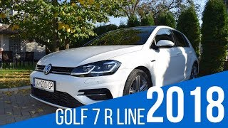 Volkswagen Golf 7 R Line DSG 2018 Facelift interior and exterior