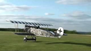 fokker DVII take off