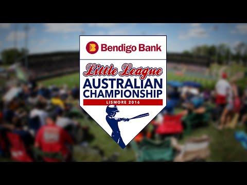REPLAY: DAY 1: Bendigo Bank Australian Little League Championship