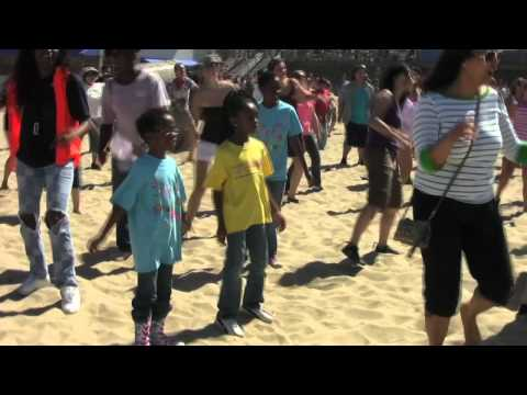 Official Heal The Bay Flash Mob - Santa Monica