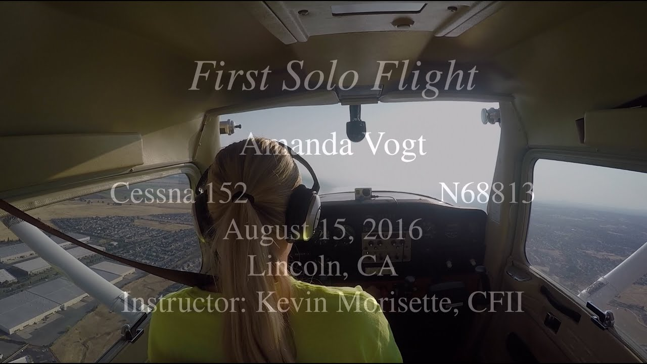 Amanda's First Solo