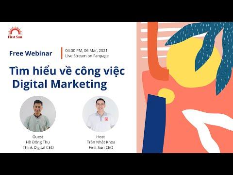 Webinar: Tìm hiểu về ngành Digital Marketing