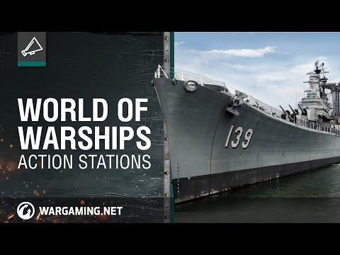 World of Warships. Action Stations [NA]
