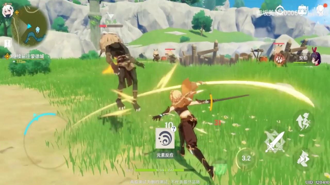 New Beta Genshin Impact Android Ios Gameplay 2020 Youtube