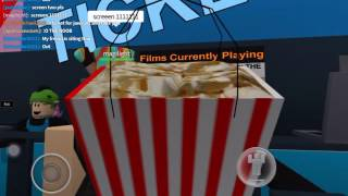 ROBLOX - Going To A Cinema